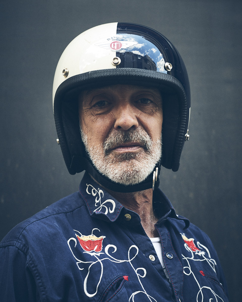Alberto García-Alix. Portrait by Jacobo Medrano for El País.