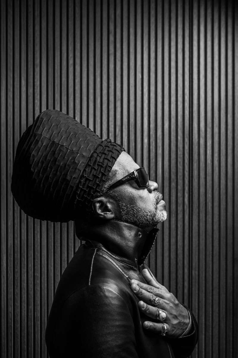 Carlinhos Brown. Portrait by Jacobo Medrano for Tapas magazine.