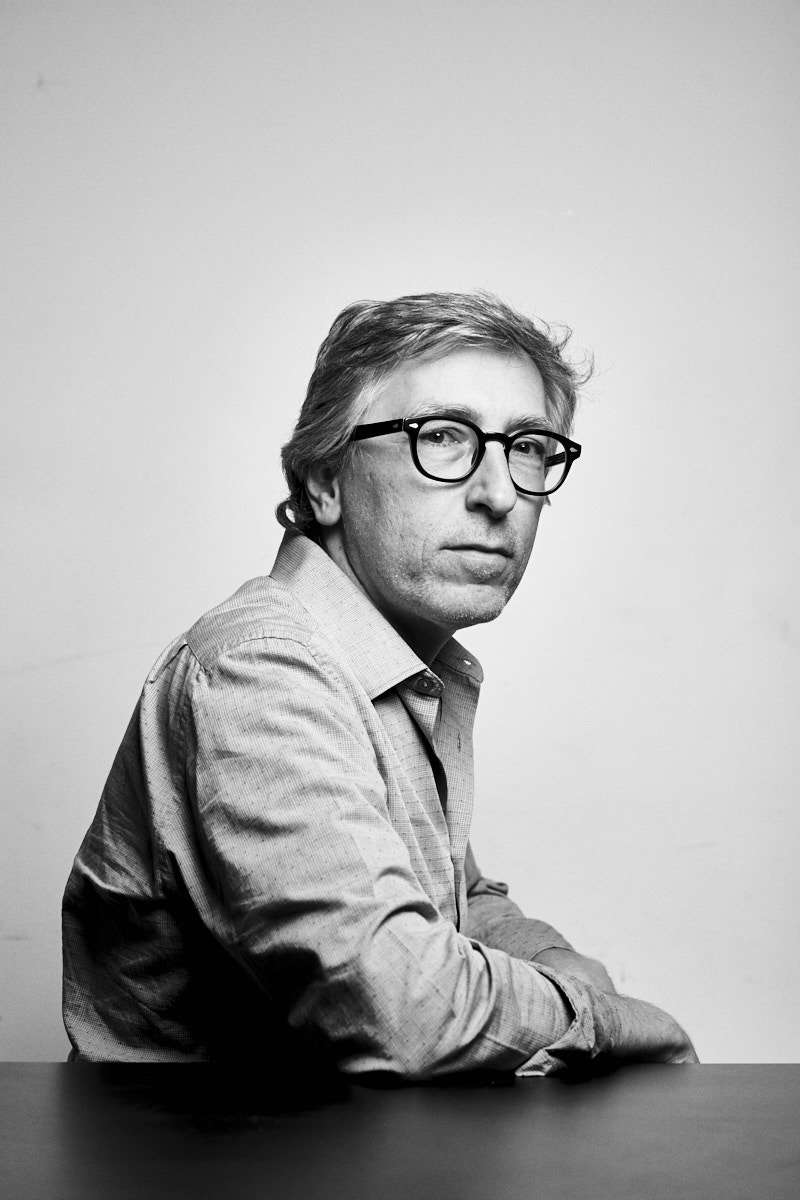 David Trueba. Portrait by Jacobo Medrano for Cinemanía magazine.