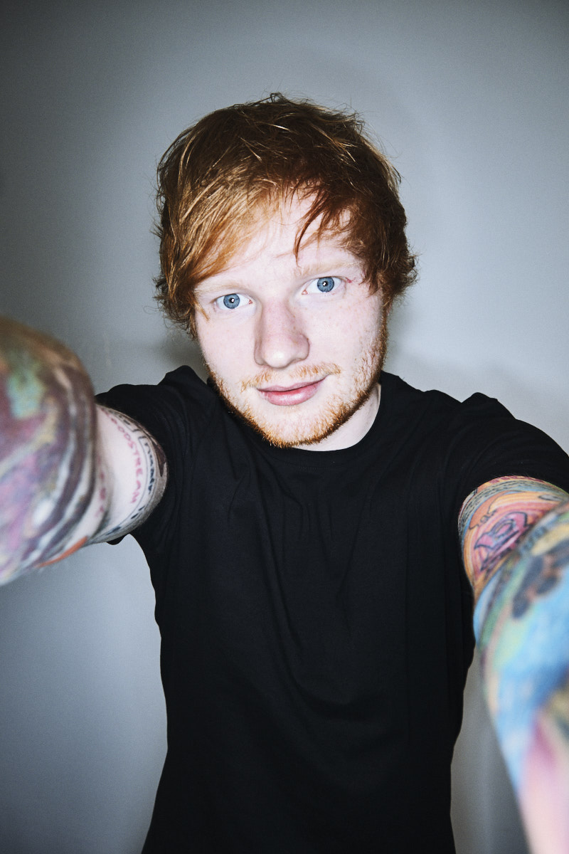 Ed Sheeran. Portrait by Jacobo medrano for Rolling Stone Spain.