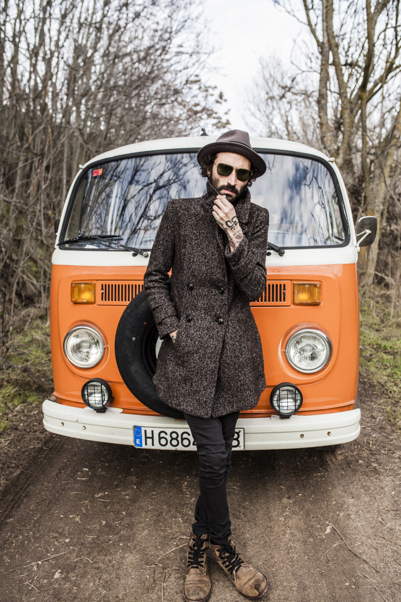 Leiva. Portrait by Jacobo Medrano for Rolling Stone magazine.